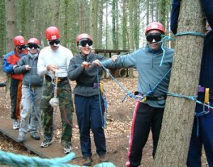outdoor team building